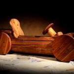 Dřevěné hračky — auto
