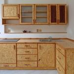 Kuchyně z OSB desky