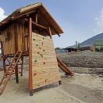 Dřevěná dětská hřiště