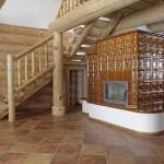 Roubené schodiště