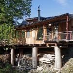 Dům s přírodními liniemi
