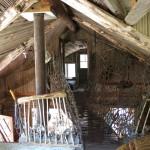 Interiéry recyklovaného domu