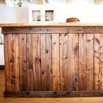 Staré dřevo v nové kuchyni
