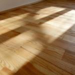 Jasanová podlaha po renovaci
