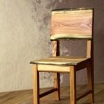 Židle přírodního designu