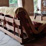 Originální futon z naší dílny vyrobený na míru