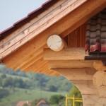 Detail střechy s nadkrokevní izolací