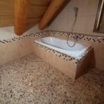 Klasická koupelna ve srubu