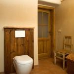 Staré dřevo může být i v koupelně