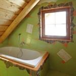 Svěží koupelna