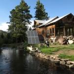 Recyklovaný dům v americké divočině